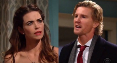 The Young and the Restless Spoilers: J.T.'s Meltdowns Turn Violent – Abusive Maniac Strikes Victoria, Heart Drugs to Blame?