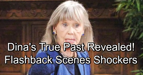 The Young and the Restless Spoilers: Comings and Goings – 'Flashbacks' Bring Younger Abbotts – Dina's Past Shockers Revealed