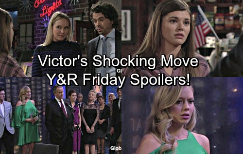The Young and the Restless Spoilers: Friday, November 10 - Victor Makes Victoria Boss, Abby Fumes – Wild Zack Party Takedown