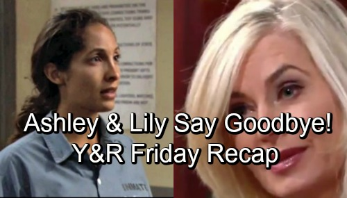 The Young and the Restless Spoilers: Friday, October 26 – Ashley Rejects Jack's Offer, Insists on Leaving Town – Lily Says Goodbye