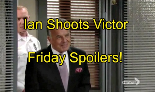 'The Young and the Restless' Spoilers: Ian Shoots Victor, Escapes with Nikki Hostage – Sharon Knocks Mariah Unconscious