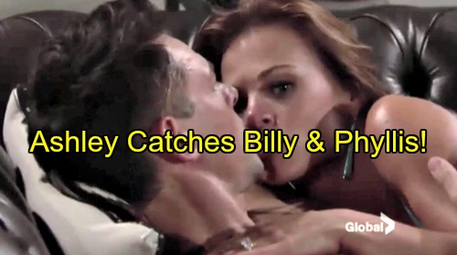 'The Young and the Restless' Spoilers: Ashley Crashes Billy and Phyllis Cheat Vacation – Jack Falls For Hilary, Devon Freaks