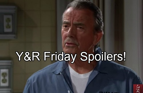 The Young and the Restless (Y&R) Spoilers: Ian Makes Deal with Adam, Gets Confession from Victor - Meredith Gone
