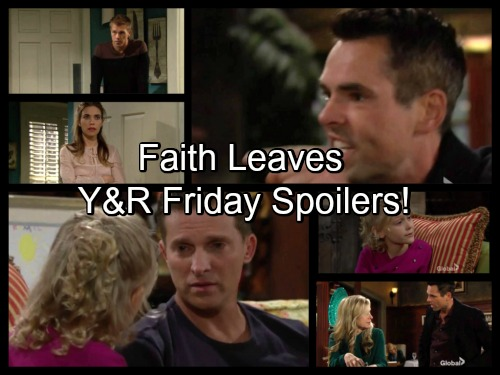 The Young and the Restless Spoilers: Faith Leaves Home - Victoria Shocked by Travis' Admission, Billy's Rage Grows