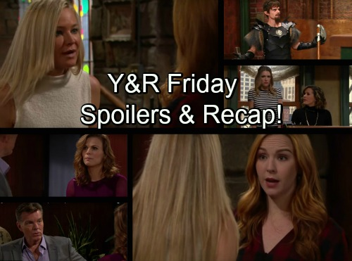 The Young and the Restless Spoilers: Mariah Betrays Sharon - Abby Witnesses Phyllis' Criminal Exchange – Jack Catches Travis