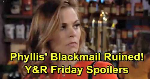 The Young and the Restless Spoilers: Friday, April 12 – Phyllis' Blackmail Scheme Flops – Lauren's Fierce Fight