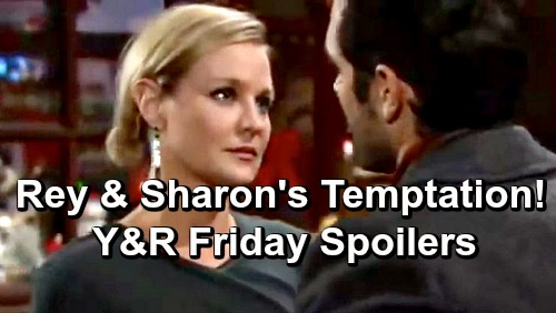 The Young and the Restless Spoilers: Friday, December 21 – Nick Fights for Family's Safety – Temptation Hits for Sharon and Rey