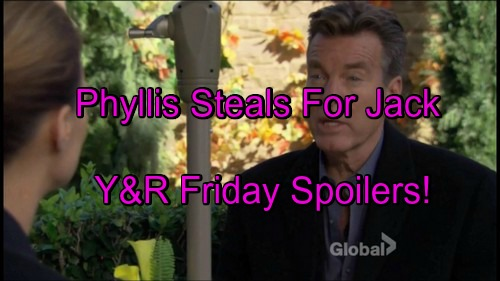 The Young and the Restless Spoilers: Phyllis Steals Docs For Jack – Travis Gets News – Chloe's Secret Raises Questions