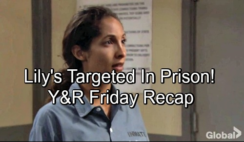 The Young and the Restless Spoilers: Friday, September 7 Update – Lily Targeted In Prison – Phyllis and Billy Hit Vegas