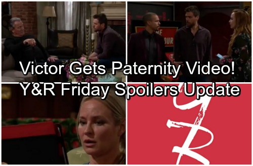 The Young and the Restless Spoilers: Friday, May 4 Update – Nick's Offers Reward for J.T. Info – Kyle Gives Victor Paternity Video