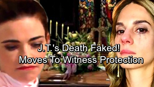 The Young and the Restless Spoilers: J.T.'s Death Faked? – Witness Protection Program Prevents Victor's Revenge Attack