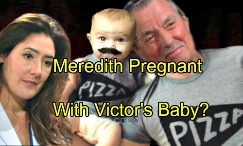 'The Young and the Restless' Spoilers: Is Meredith Pregnant with Victor's Baby – Another Little Newman on the Way?