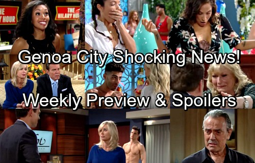 The Young and the Restless Spoilers: Week of May 28 – Hilary's Pregnancy News – Nikki and Abby Face Off – Victoria's Blindsided