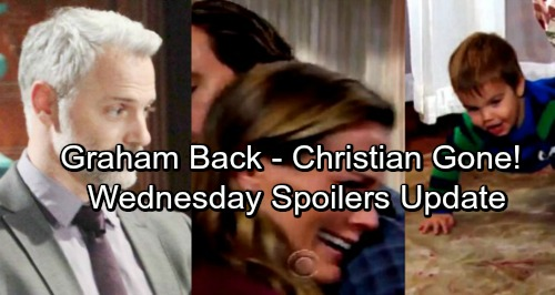The Young and the Restless Spoilers: Wednesday, January 3 Update - Christian Disappears During Battle – Graham Resurfaces