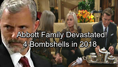 The Young and the Restless Spoilers: 4 Abbott Bombshells Ahead – Powerful Family Rocked by Disasters and Suffering