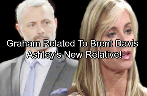 The Young and the Restless Spoilers: Graham's Mother Related To Brent Davis – Ashley Has a New Family Member