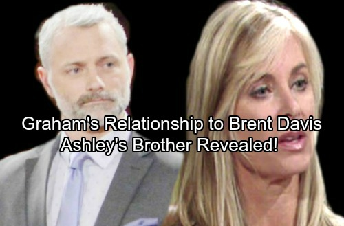 The Young and the Restless Spoilers: Graham's Unexpected Tie To Brent Davis – Ashley's Shocking Relationship To Graham Revealed