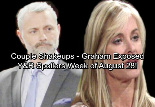 The Young and the Restless Spoilers: Week of August 28 – Graham Exposed - Stunning Betrayals, Heated Conflict and New Couples