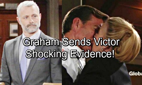 The Young and the Restless Spoilers: Graham Sends Victor Shocking Evidence, Goes To War With The Abbotts