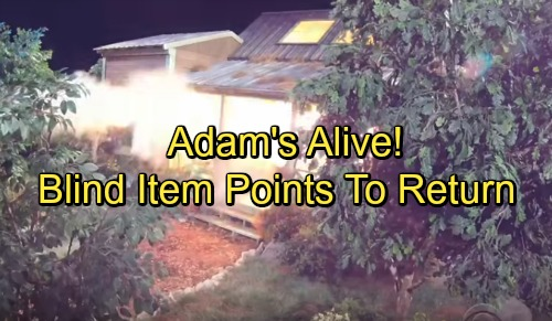The Young and the Restless Spoilers: Adam Newman's Alive, Comeback Underway – Blind Item Points to Genoa City Shocker