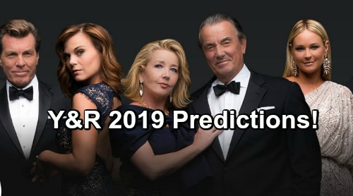 the young and the restless spoilers predictions for y r as 2019