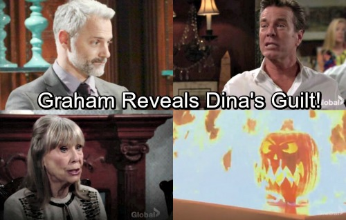 The Young and the Restless Spoilers: Jack Struggles to Cover Up Dina's Fiery Secret – Graham Uses Shocker for Revenge