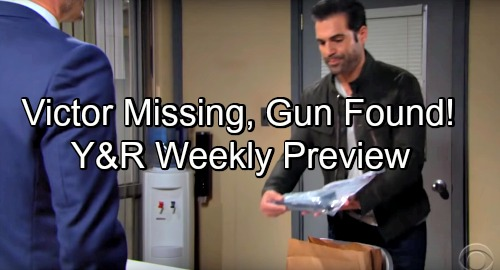 The Young and the Restless Spoilers: Weekly Preview Shocker – Victor Goes Missing, Newmans Panic - Billy and Phyllis Warm Up
