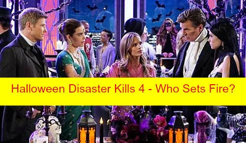 The Young and the Restless (Y&R) Spoilers: Newman Halloween Party Disaster Kills 4 - Who Set The Fire?