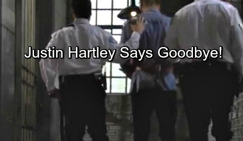 The Young and the Restless Spoilers: Justin Hartley Offers Y&R Farewell Speech – Adam Escapes From Jail, Remains Missing