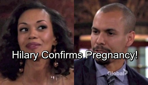 The Young and the Restless Spoilers: Devon's Baby Mama Nightmare – Hilary Confirms Pregnancy