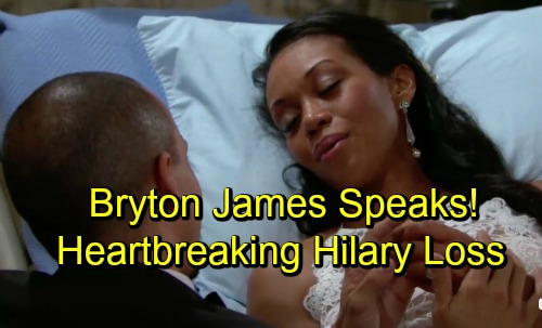 The Young and the Restless Spoilers: Bryton James On Devon's Life After Hilary and Heartbreaking Final Scenes With Mishael Morgan