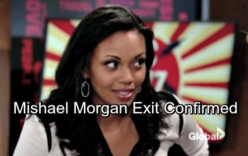 The Young and the Restless Spoilers: Mishael Morgan Confirmed Out at Y&R – Hilary's Tragic Exit Devastates Devon