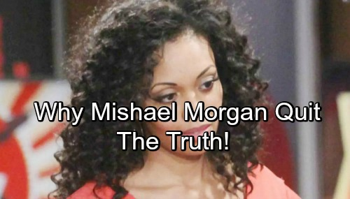 The Young and the Restless Spoilers: Mishael Morgan's Agent Reveals Shocking Reason for Her Exit – Discusses Potential Return