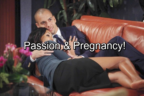 The Young and the Restless Spoilers: Baby-Making Time for Devon and Hilary - Passion Leads To Pregnancy