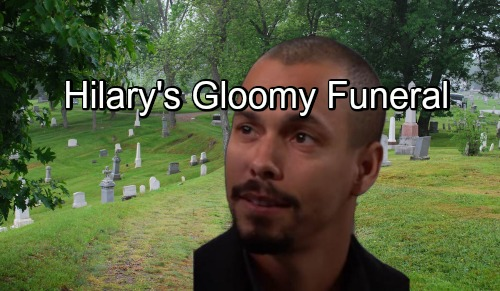 The Young and the Restless Spoilers: Hilary's Gloomy Funeral – Neil Pushes Distraught Devon to Attend Painful Service, Find Closure