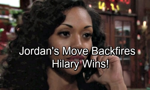 The Young and the Restless Spoilers: Hilary Enraged By Photos – Jordan's Plan Fails, Hilary More Popular Than Ever