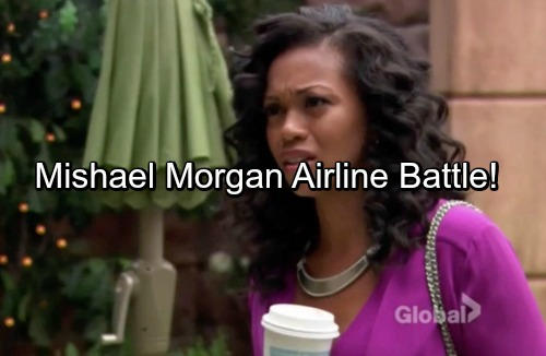 The Young and the Restless Spoilers: Mishael Morgan Goes Public With Horrible Airline Experience