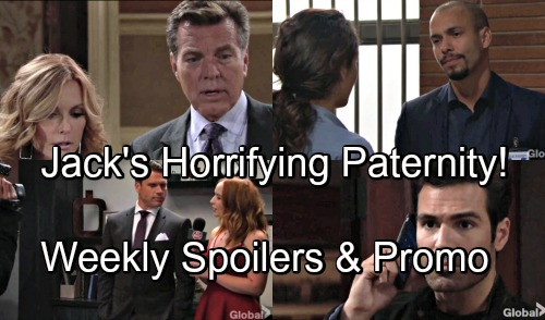 The Young and the Restless Spoilers: Hot Promo Week of September 10 – Nick's Arrested – Lauren Horrifies Jack With Paternity Shocker