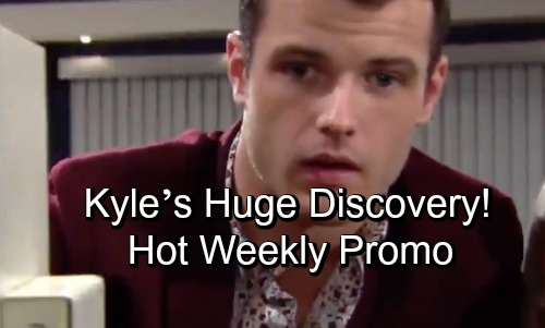 The Young and the Restless Spoilers: Hot Weekly Preview October 15-19 – Kyle's Huge Discovery – Phyllis Slaps Sleazy Billy