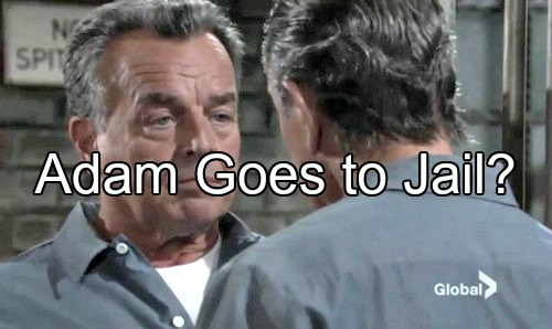 'The Young and the Restless' Spoilers: Adam's Scheme Comes Back To Bite Him - Goes To Jail Over Ian Ward Escape Plan?