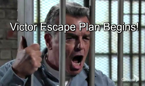 The Young and the Restless (Y&R) Spoilers: Victor and Ian Escape Plot Goes Into Action – Dr Gates Plays Critical Role