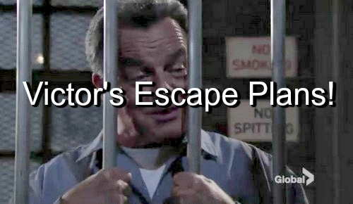 The Young and the Restless (Y&R) Spoilers: Warden Identifies Victor's Assailant - Ian's Escape Plan Intrigues The Moustache