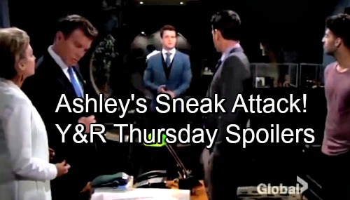 The Young and the Restless Spoilers: Thursday, May 24 – Ashley's Sneak Attack – Nick Asks Phyllis – Kyle's Crushing Defeat