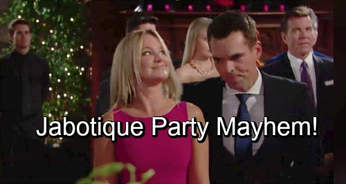 The Young and the Restless Spoilers: Phyllis Flicks Billy Off – Jabotique Party Happens With Shocking Fallout