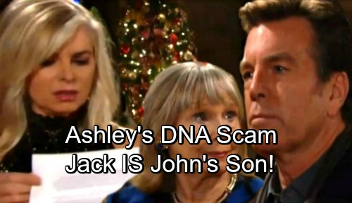 The Young and the Restless Spoilers: Jack's Paternity Search Ends – Circles Back To John Abbott After Ashley's Deception Exposed