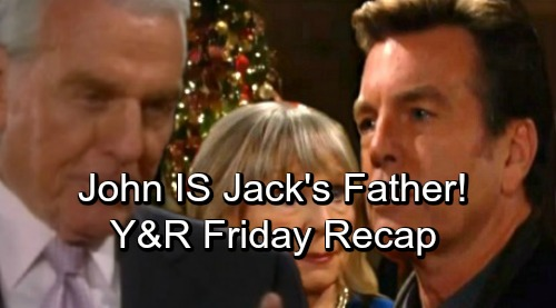 The Young and the Restless Spoilers: Friday, October 12 – Ashley Exposed, John Is Jack's Father – Money Demand for Cover-up Crew