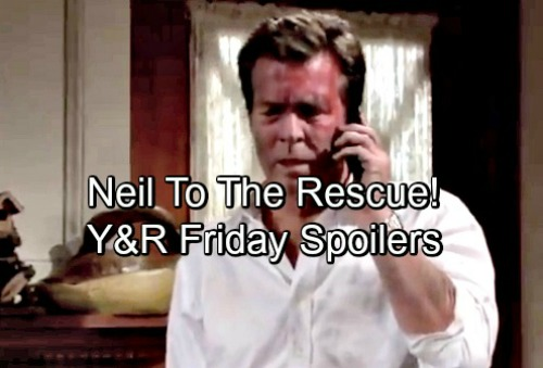 The Young and the Restless Spoilers: Friday, May 18 – Phyllis Blasts Nikki – Sharon and Nick's Future Decided – Neil to the Rescue