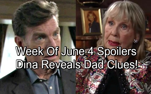 The Young and the Restless Spoilers: Dina Reveals Startling New Bio Dad Clues – Jack Gets Hints, Follows Trail