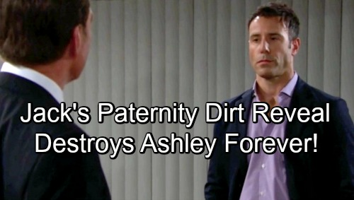 The Young and the Restless Spoilers: Kyle Scores Andrew's Paternity Dirt on Ashley – Jack's Dad Shocking Reveal