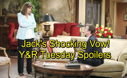 The Young and the Restless Spoilers: Tuesday, July 10 – Ashley's Big Risks – Billy Lies for Summer's Sake – Jack's Shocking Vow